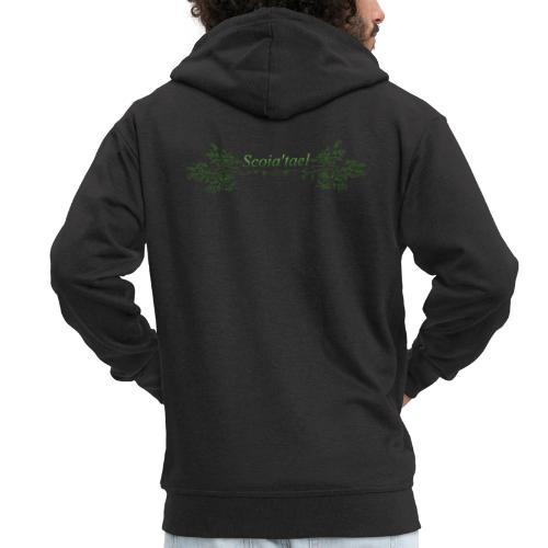 scoia tael - Men's Premium Hooded Jacket