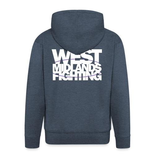 tshirt wmf white 2 - Men's Premium Hooded Jacket