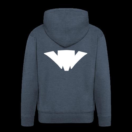 Unifont Logo - Men's Premium Hooded Jacket