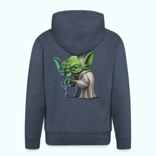 Little Gnome - Men's Premium Hooded Jacket
