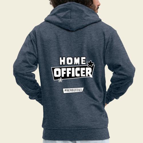 Home Officer - Männer Premium Kapuzenjacke