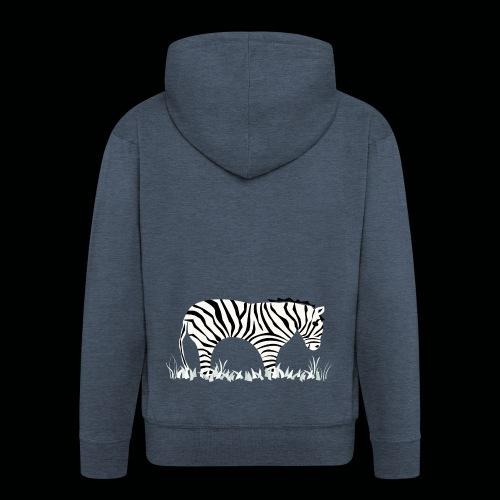 Zebra - Männer Premium Kapuzenjacke
