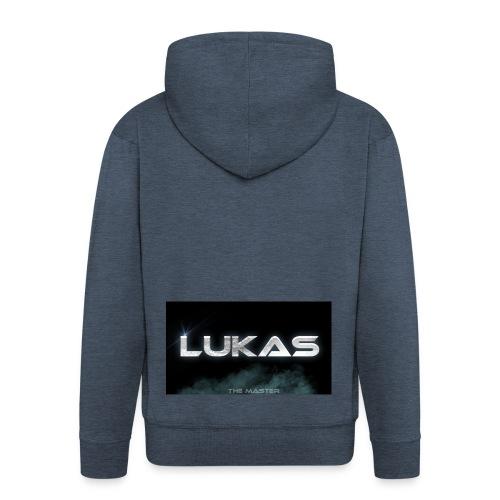 Lukas bester Merch - Männer Premium Kapuzenjacke
