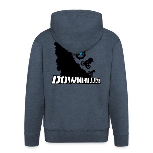 Downhiller - Männer Premium Kapuzenjacke