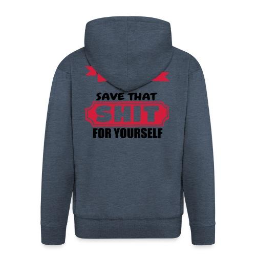 Don't Judge Me - Men's Premium Hooded Jacket