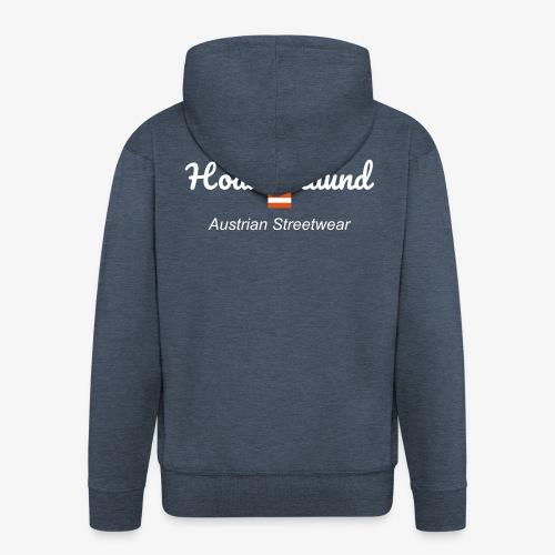 hoamatlaund austrain Streetwear - Männer Premium Kapuzenjacke