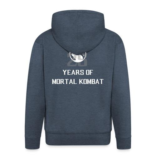 25 Years of Mortal Kombat: Mortal Kombat X ver. 01 - Men's Premium Hooded Jacket