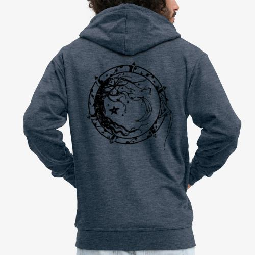 Tree of Life - Men's Premium Hooded Jacket
