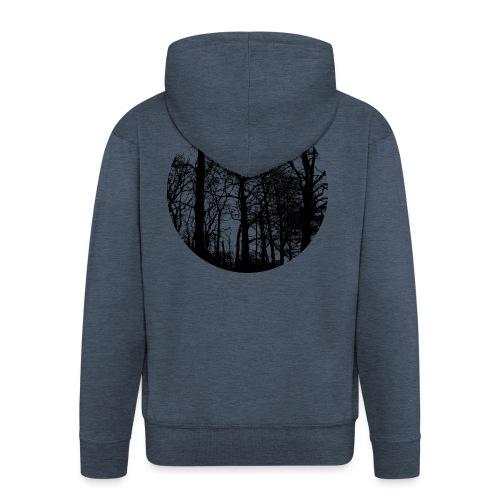 fagus sylvatica - Men's Premium Hooded Jacket