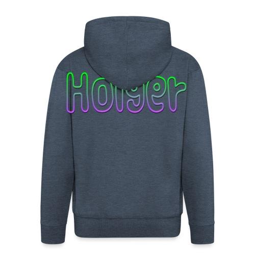 Holger - Herre premium hættejakke