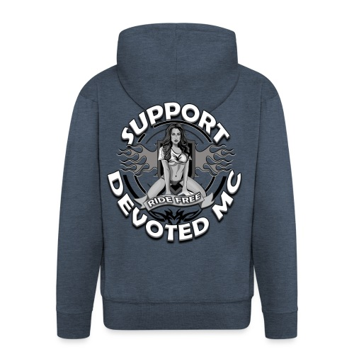 T-Shirt DEVOTEDMC PINUP - Premium Hettejakke for menn