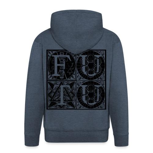 futu MERCHANDISING - Chaqueta con capucha premium hombre