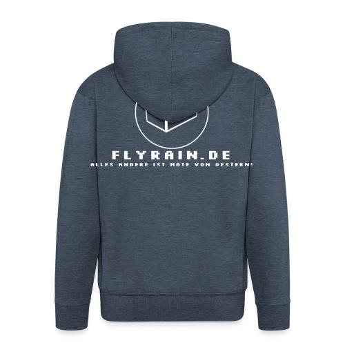 flyrain shirt weiss - Männer Premium Kapuzenjacke