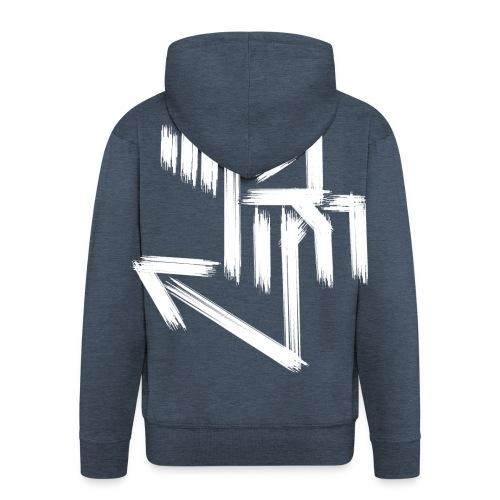 RieKash RIP Lady Sweater - Männer Premium Kapuzenjacke