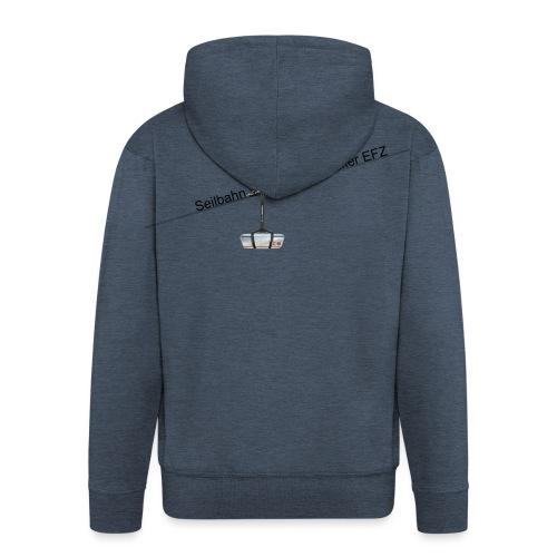 Jacke logo schwarz - Männer Premium Kapuzenjacke