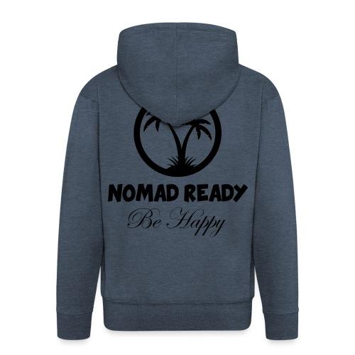 nomadready behappy - Veste à capuche Premium Homme