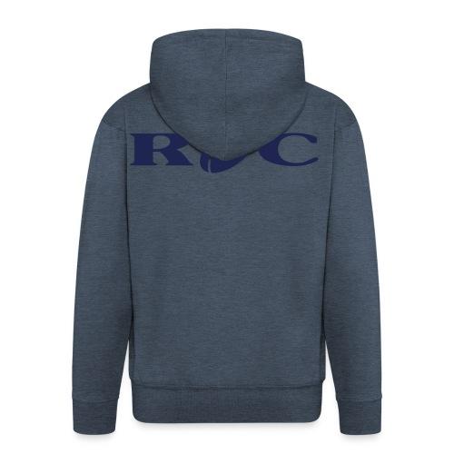 ROC-bleu - Veste à capuche Premium Homme