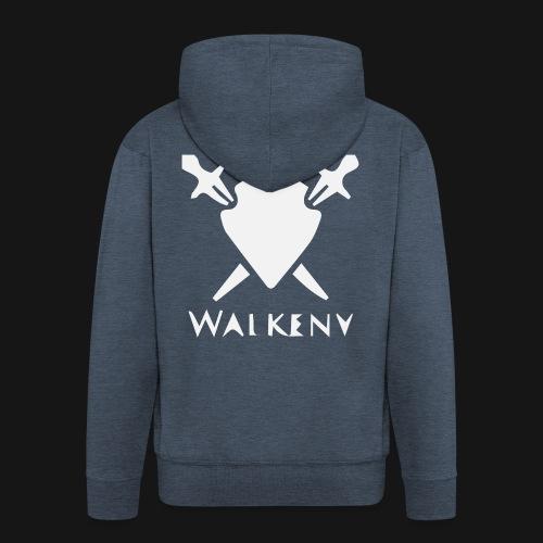 Walkeny Schwert Logo! - Männer Premium Kapuzenjacke
