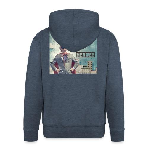 Bebo_Best_-Heroes_3000-72dpi_ - Men's Premium Hooded Jacket