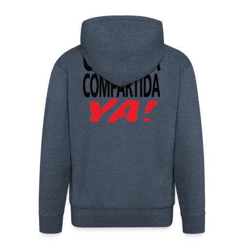 Custodia Compartida YA Negro - Chaqueta con capucha premium hombre
