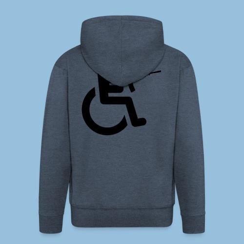 WheelchairM16 - Mannenjack Premium met capuchon
