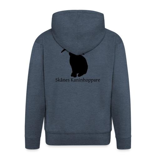 Herr t-shirt - Svart logga - Premium-Luvjacka herr