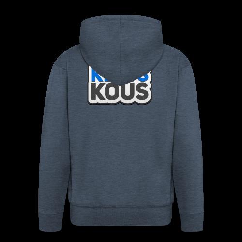 Kletskous - Mannenjack Premium met capuchon
