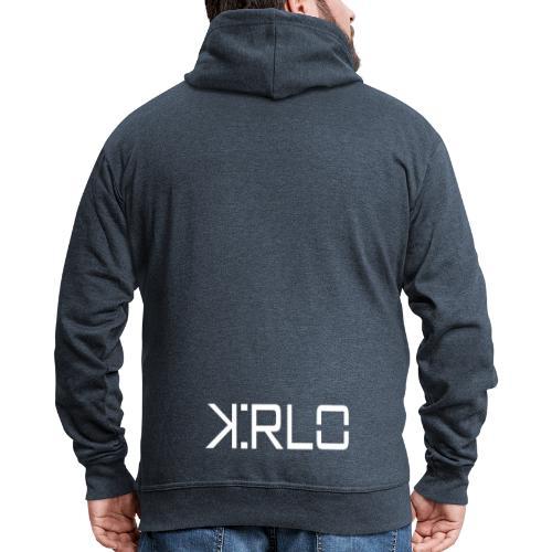 Kirlo Logo Blanco - Chaqueta con capucha premium hombre