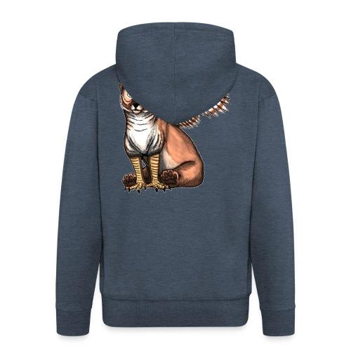 Bear Owl - The Cuter Cousin - Men's Premium Hooded Jacket