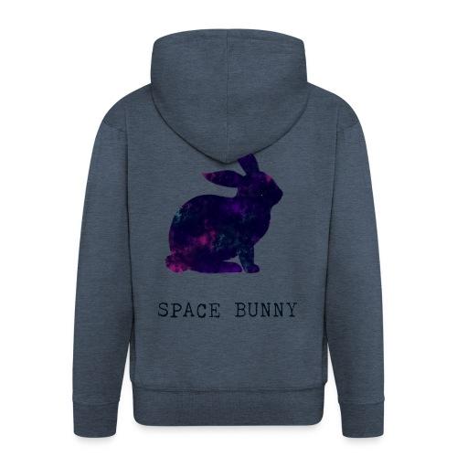 Space Bunny - Men's Premium Hooded Jacket