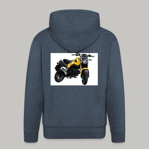 Grom Motorcycle (Monkey Bike) - Men's Premium Hooded Jacket