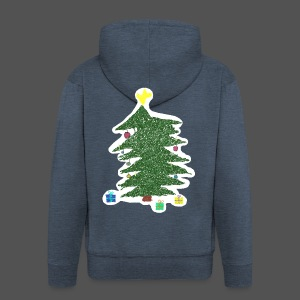 Christmas Kids-Drawing - Männer Premium Kapuzenjacke
