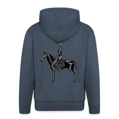Reiter-Skelett - Men's Premium Hooded Jacket