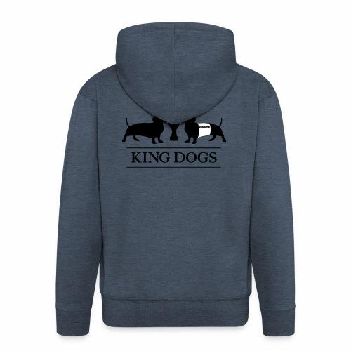KING DOGS 2wear dog squad - Herre premium hættejakke