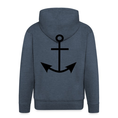 ANCHOR CLOTHES - Men's Premium Hooded Jacket
