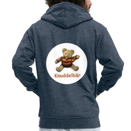 Teddybär Knuddelbär Schmusebär Teddy orange braun - Männer Premium Kapuzenjacke