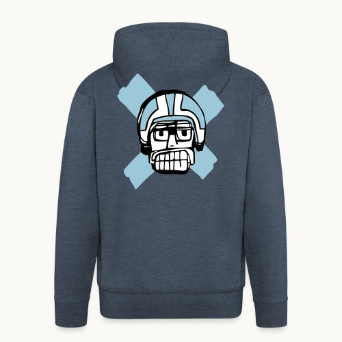 Motard Junior - Blue - Veste à capuche Premium Homme