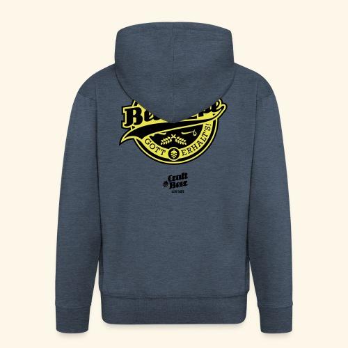 Beer Pope, bicolor - Männer Premium Kapuzenjacke