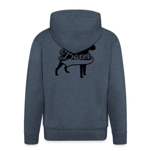 boxer - Chaqueta con capucha premium hombre