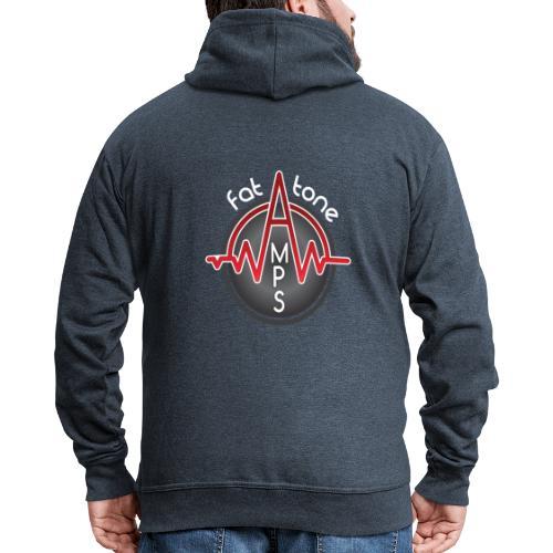 Fat Tone Amps logo - Men's Premium Hooded Jacket