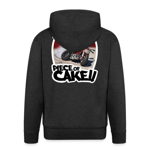 Ducati Monster Skidding - Chaqueta con capucha premium hombre