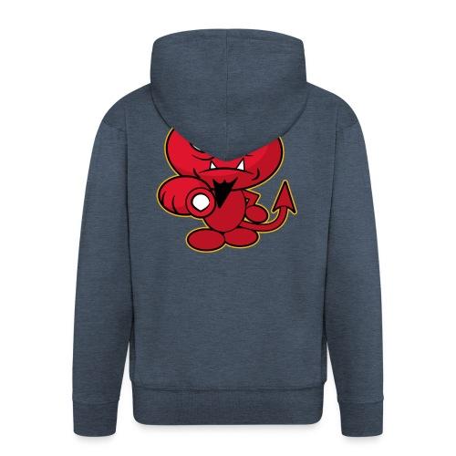 Monster Devil - Men's Premium Hooded Jacket