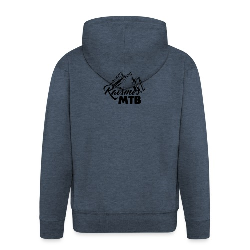 RaismesMTB Logo (maillot pour rider) - Veste à capuche Premium Homme