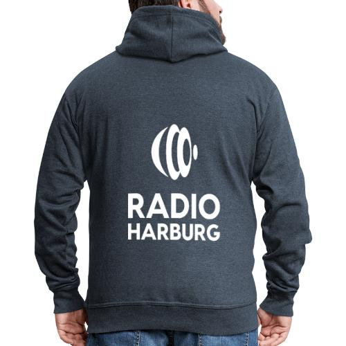 Radio Harburg - Männer Premium Kapuzenjacke