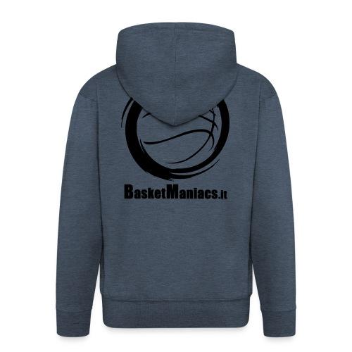 Basket Maniacs - Felpa con zip Premium da uomo
