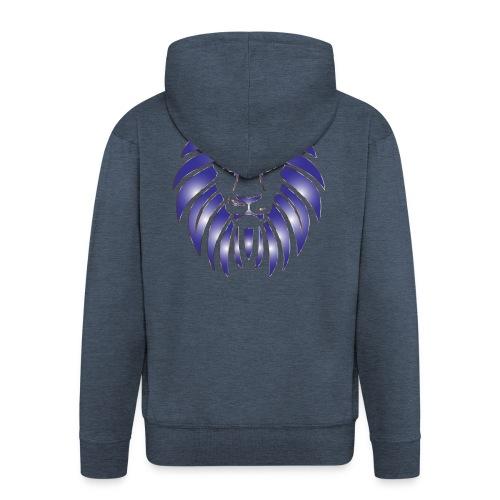 Lion Hunter - Men's Premium Hooded Jacket
