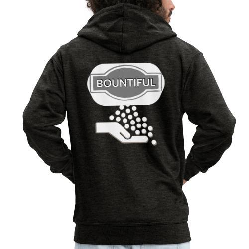 Bontiul gray white - Men's Premium Hooded Jacket