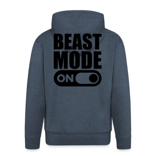 BEAST MODE ON - Men's Premium Hooded Jacket