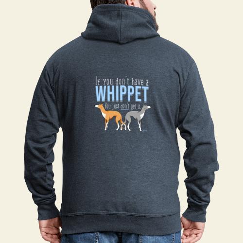 Whippet Get it III - Miesten premium vetoketjullinen huppari