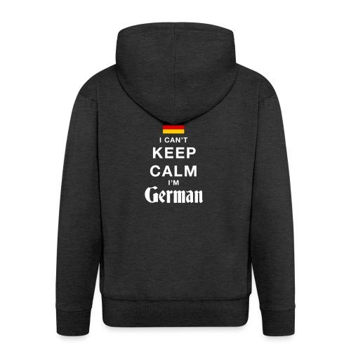 I CAN T KEEP CALM german - Männer Premium Kapuzenjacke